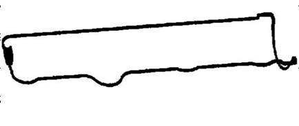 SAAB, OPEL Rocker cover gasket 90501641
