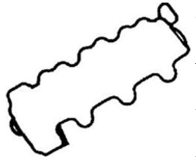 Mercedes Benz Rocker cover Gasket 112 016 03 21, 70-34108-00